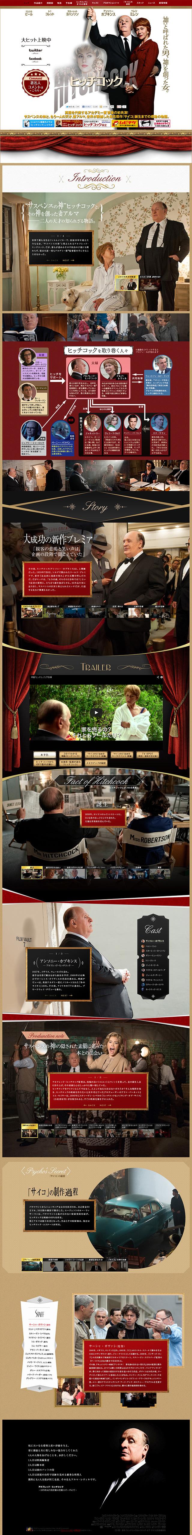 映画「ヒッチコック」公式サイト